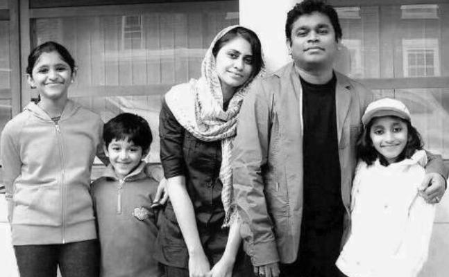 A. R. Rahman with family