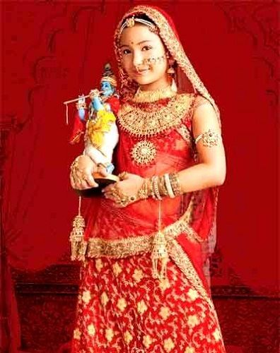 Aashika Bhatia as young Meera