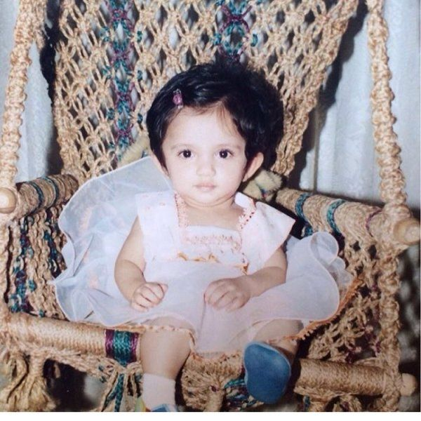 Ahsaas Channa childhood picture