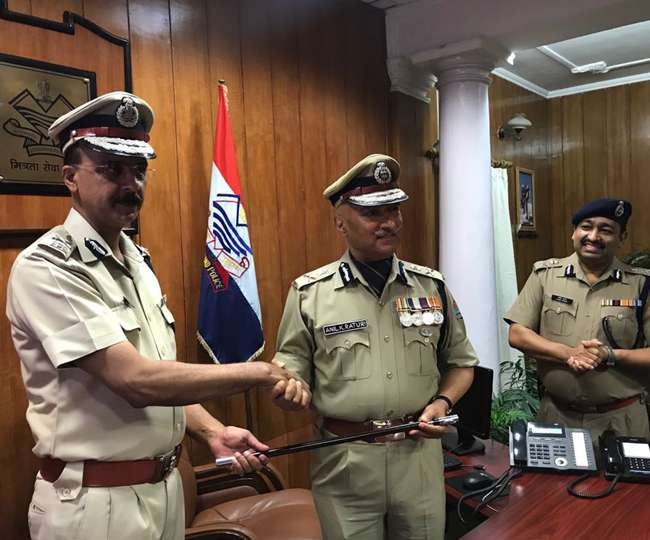 Anil Kumar Raturi Taking Charge As The DGP of Uttarakhand