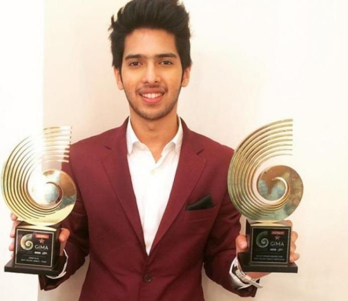 Armaan Malik With His GiMA