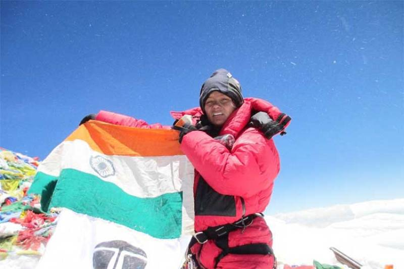 Arunima Sinha At Mount Everest