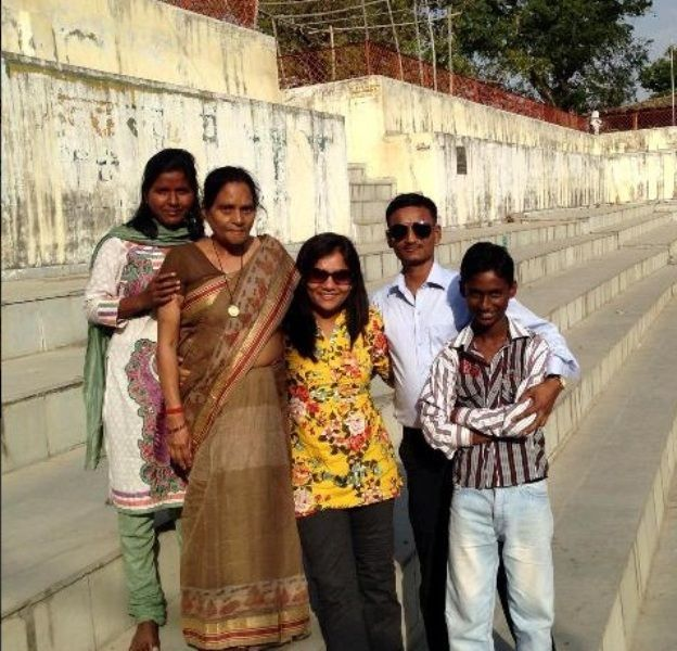 Arunima Sinha With Her Family