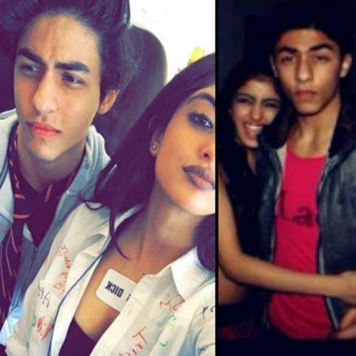 Aryan Khan with Navya Naveli Nanda