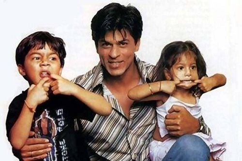 Aryan Khan's childhood picture with his father and sister