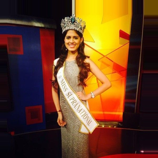 Asha Bhat as Miss Supranational