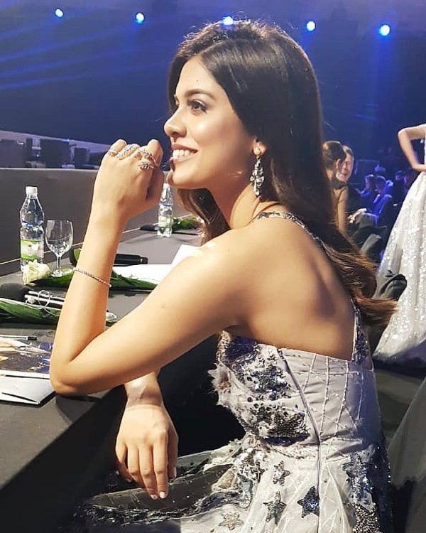 Asha Bhat as a member of Jury at a Beauty Pageant