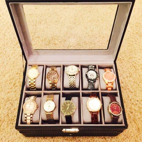Asha Bhat's collection of watch