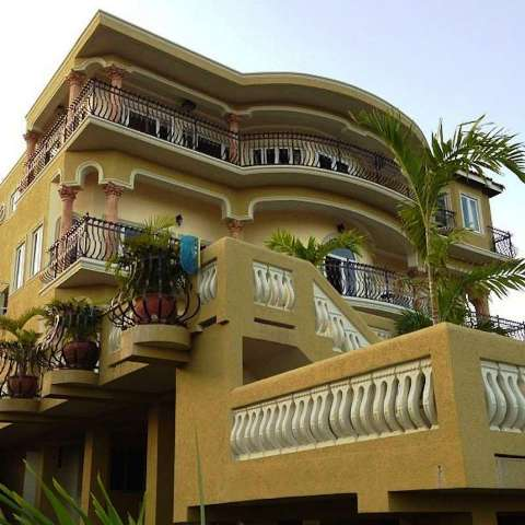Chris Gayle's house in Jamaica