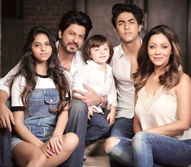 Gauri Khan with her family