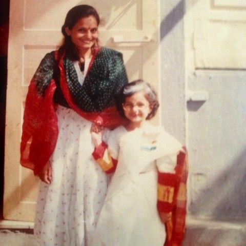 Giaa Manek childhood pic