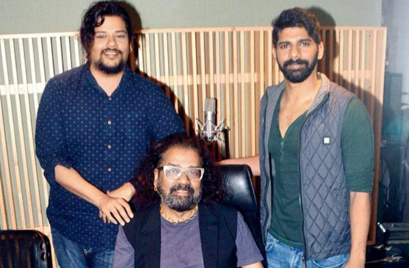 Hariharan And His Sons Karan And Akshay