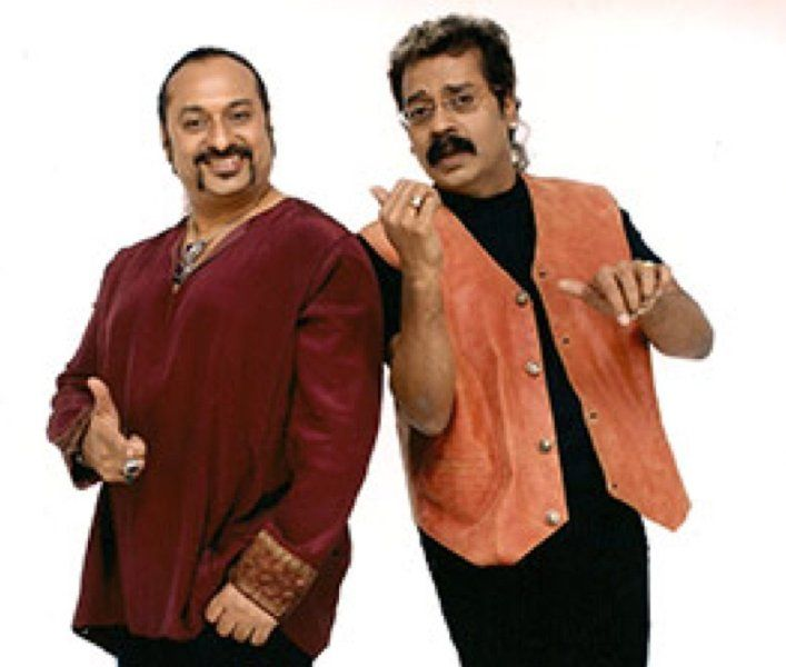 Hariharan With Lesle Lewis
