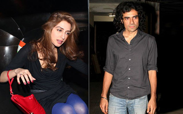 Imtiaz Ali and Iman Ali