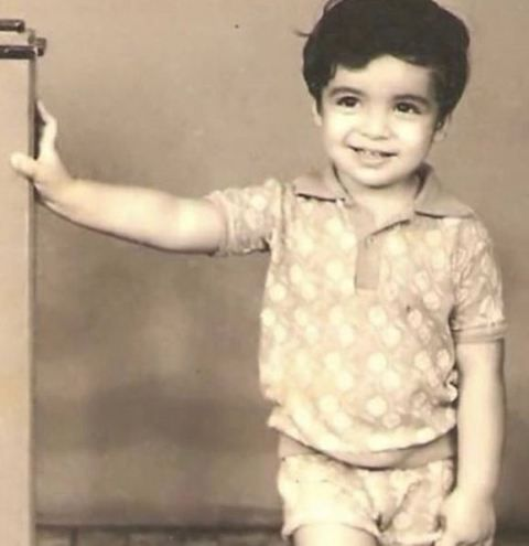 Imtiaz Ali childhood picture