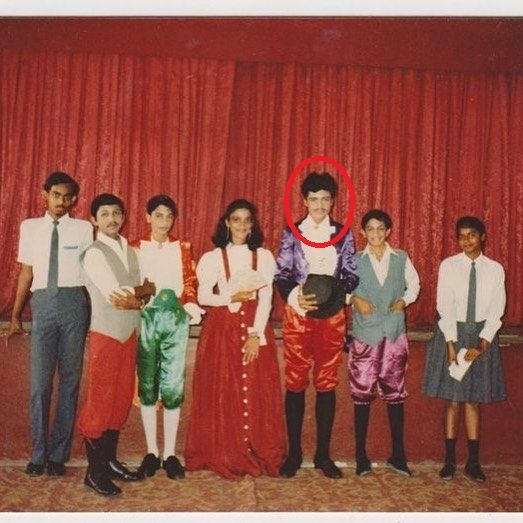Imtiaz Ali in his school days
