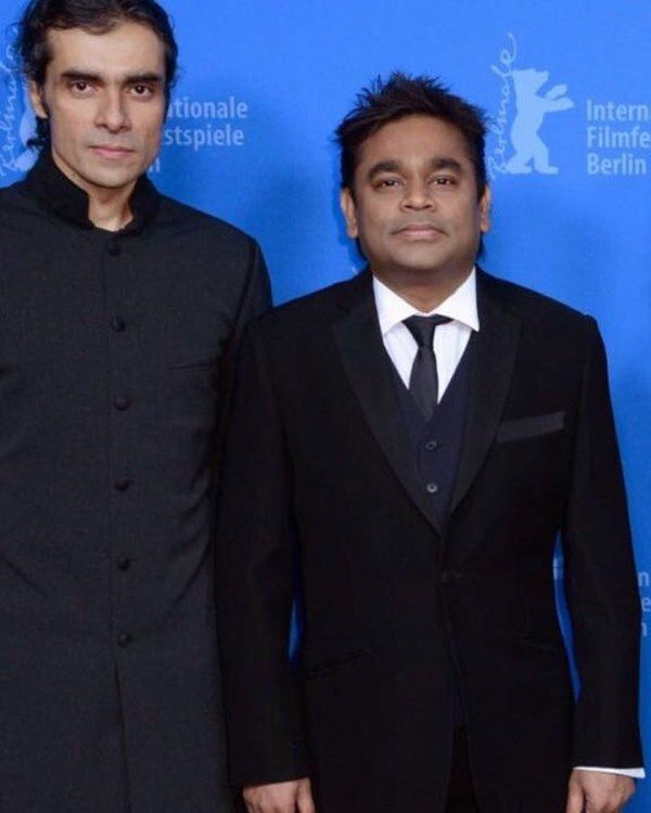 Imtiaz Ali with A. R. Rahman