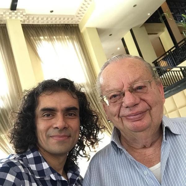 Imtiaz Ali with Ruskin Bond