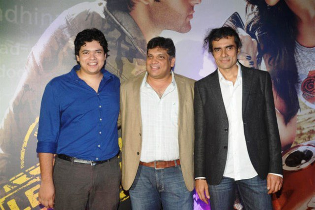 Imtiaz Ali with his brothers
