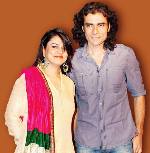 Imtiaz Ali with his ex-wife