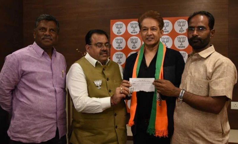 Jawed Habib Joins BJP