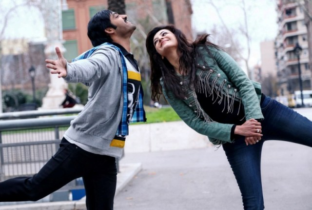 Jr. NTR in a still from the movie Baadshah