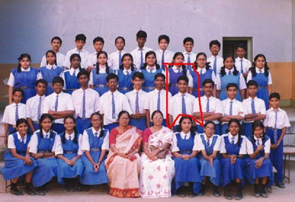 Jr. NTR in his school days