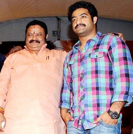 Jr. NTR with his father
