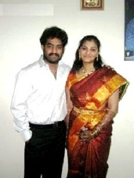 Jr. NTR with his half-sister