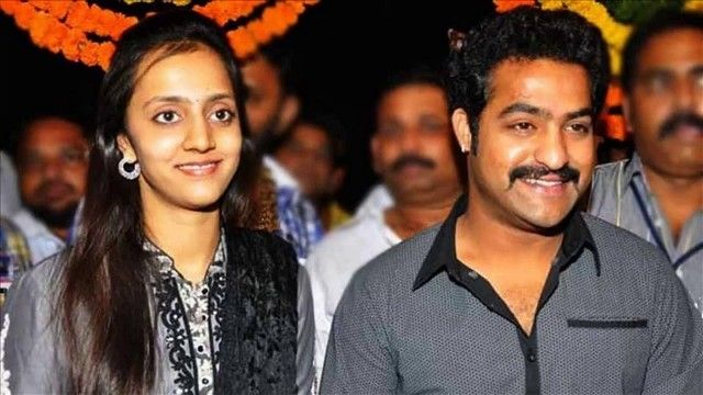Jr. NTR with his wife