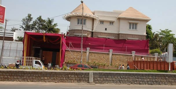 Jr. NTR's residence in Hyderabad