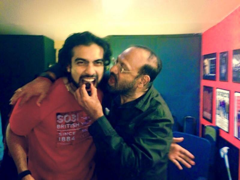 Jubin Nautiyal With His Father