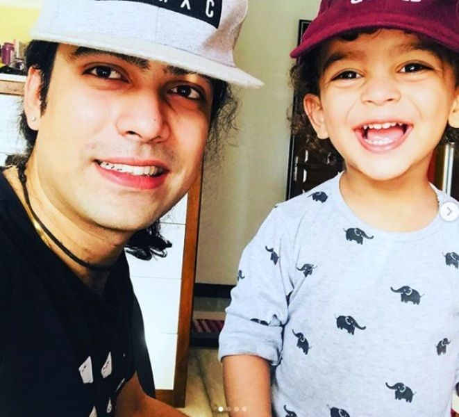 Jubin Nautiyal With His Mamujaan