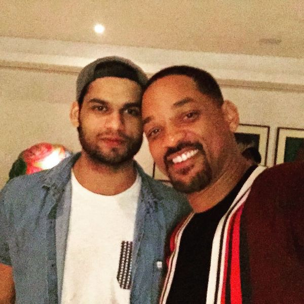 Karan Kapadia with Will Smith