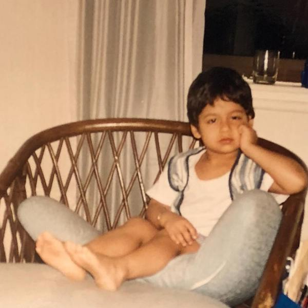 Karan Kapadia's childhood picture