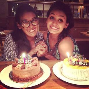 Kriti Mohan and Shakti Mohan's birthday