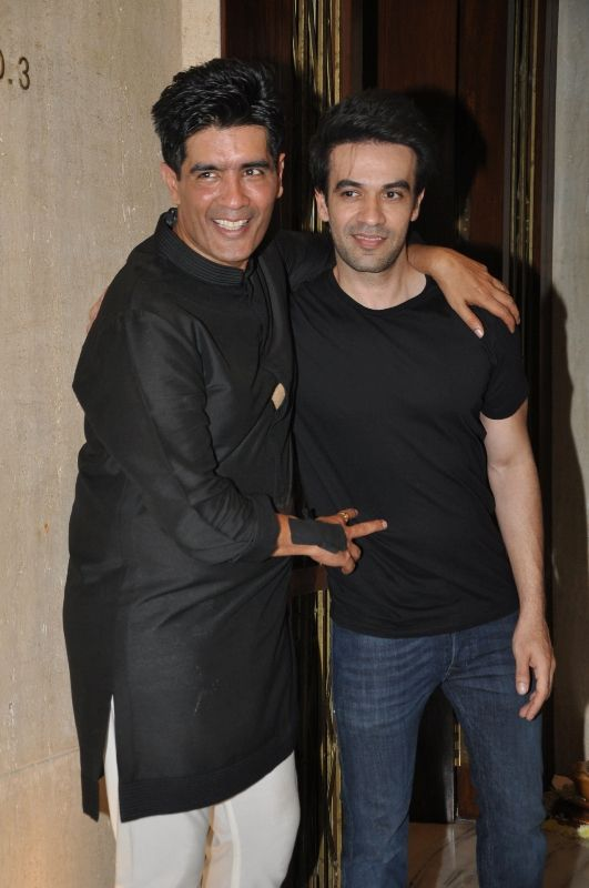 Manish Malhotra with his nephew,Punit Malhotra