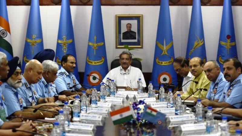 Manohar Parrikar As The Defence Minister of India