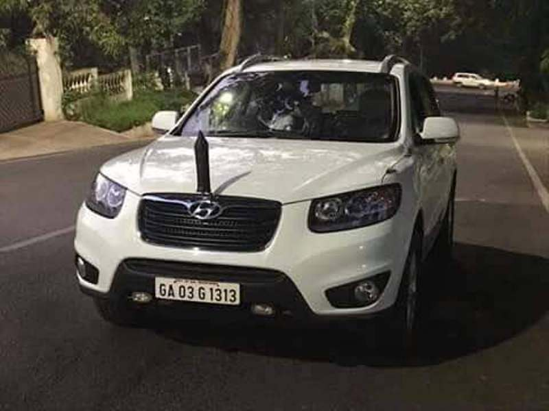 Manohar Parrikar's Official Car Of Goa CM