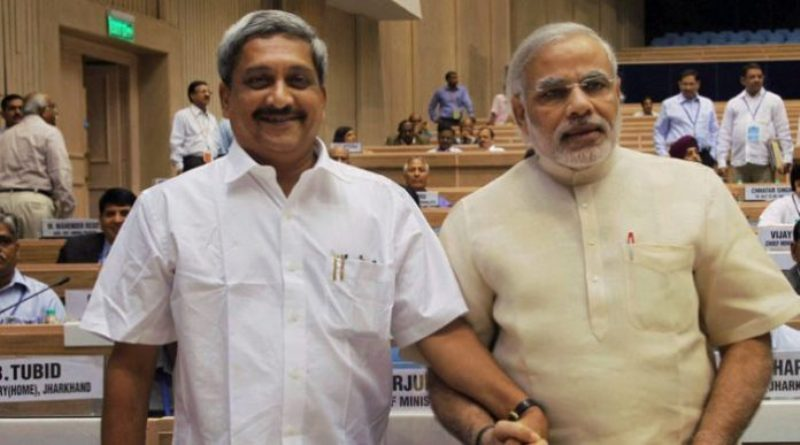 Manohar Parrikar With Narendra Modi