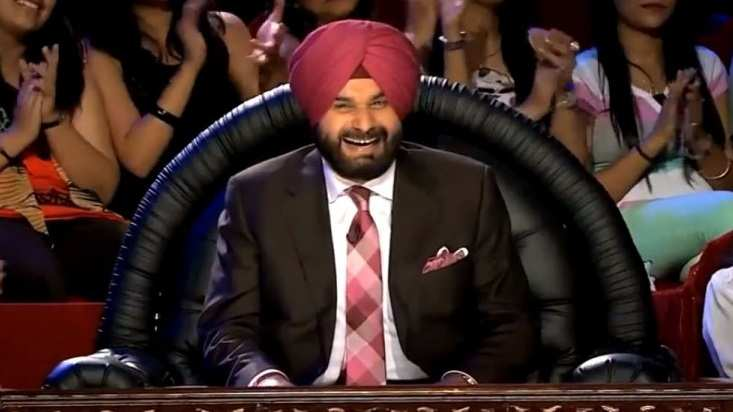 Navjot Singh Sidhu in The Kapil sharma Show