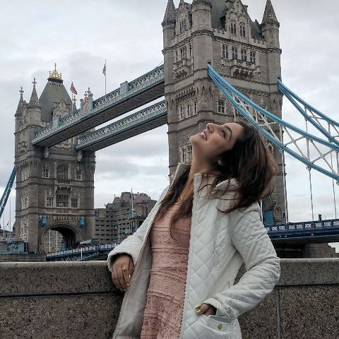 Neha Marda in London