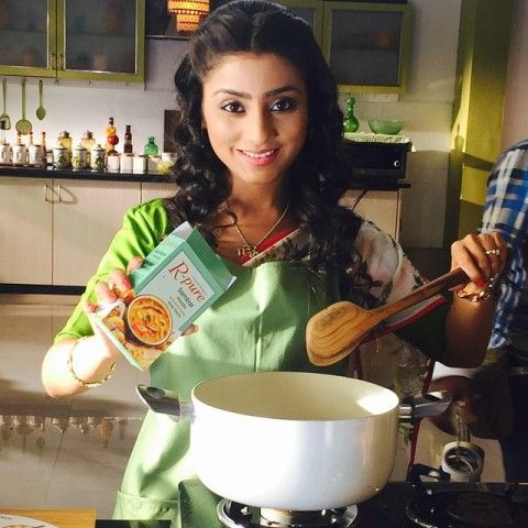 Neha Marda in TVC of R-Pure masala