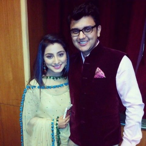 Neha Marda with her husband