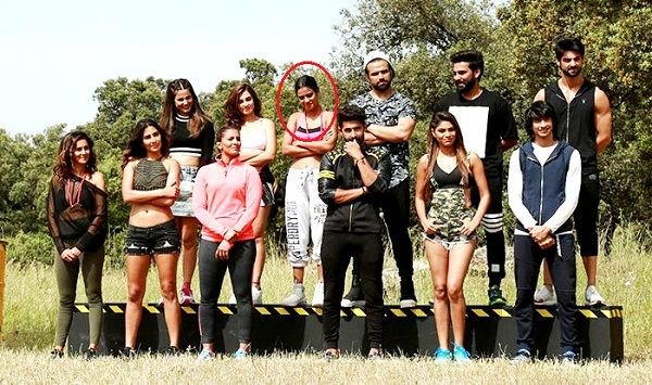 Nia Sharma in Fear Factor Khatron Ke Khiladi