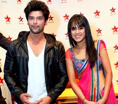 Nia Sharma with Kushal Tandon