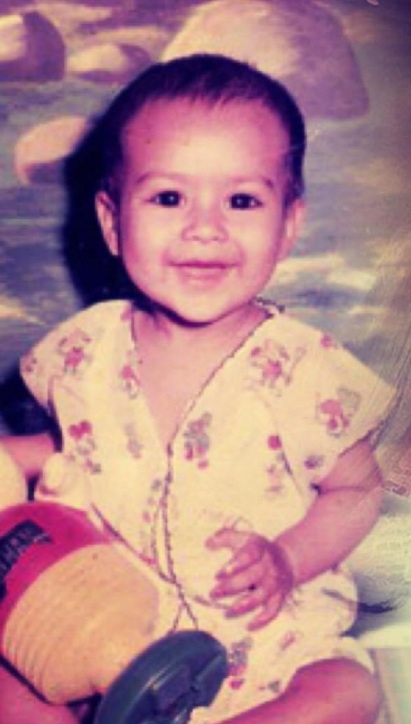 Nia Sharma's childhood picture