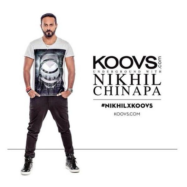 Nikhil Chinapa association with Koovs