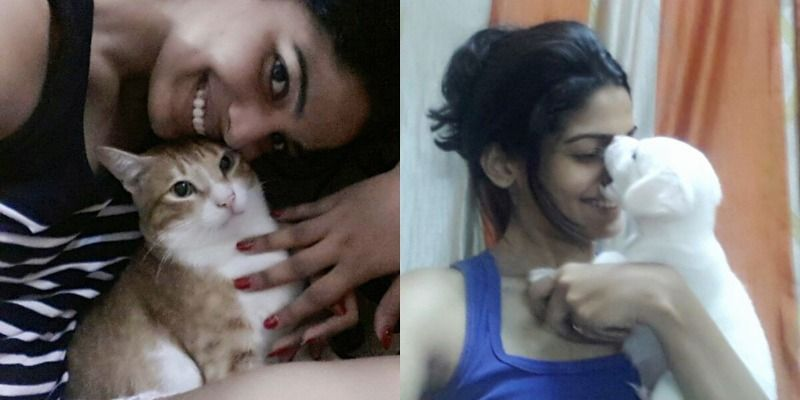 Pooja Sawant loves animals