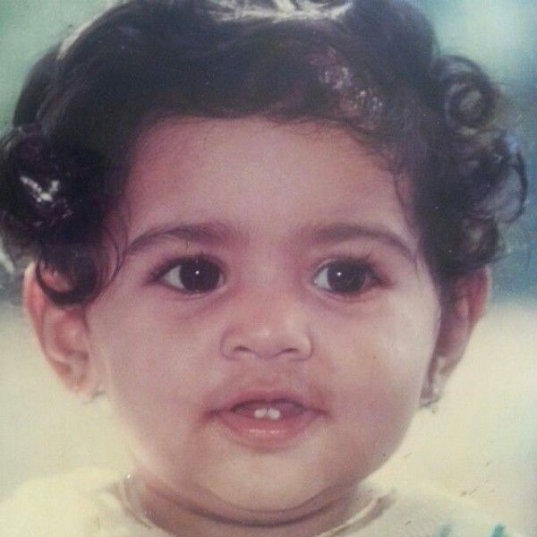 Pooja Sawant's childhood picture
